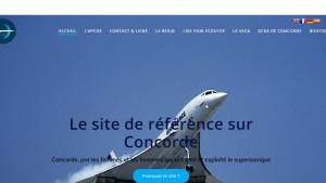 capture ecran site concorde